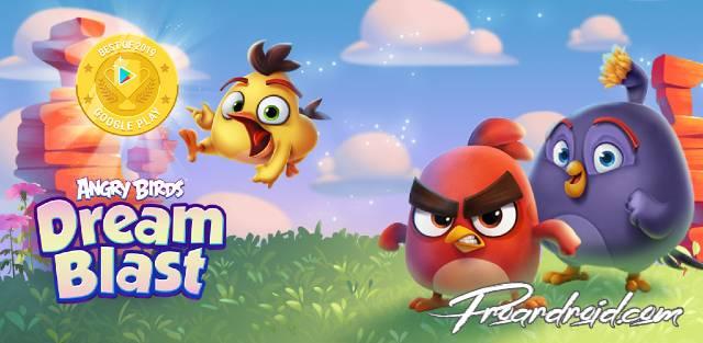 تحميل لعبة Angry Birds Dream Blast نسخة مهكرة للاجهزة الاندرويد