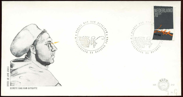 Netherlands 1983 Martin Luther FDC First Day Cover