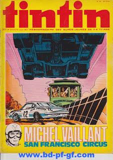 Tintin numéro 48, 1975, Michel Vaillant