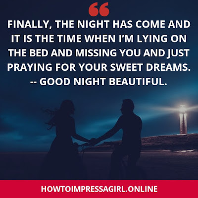 Good Night for Love, Love Messages for Good Night