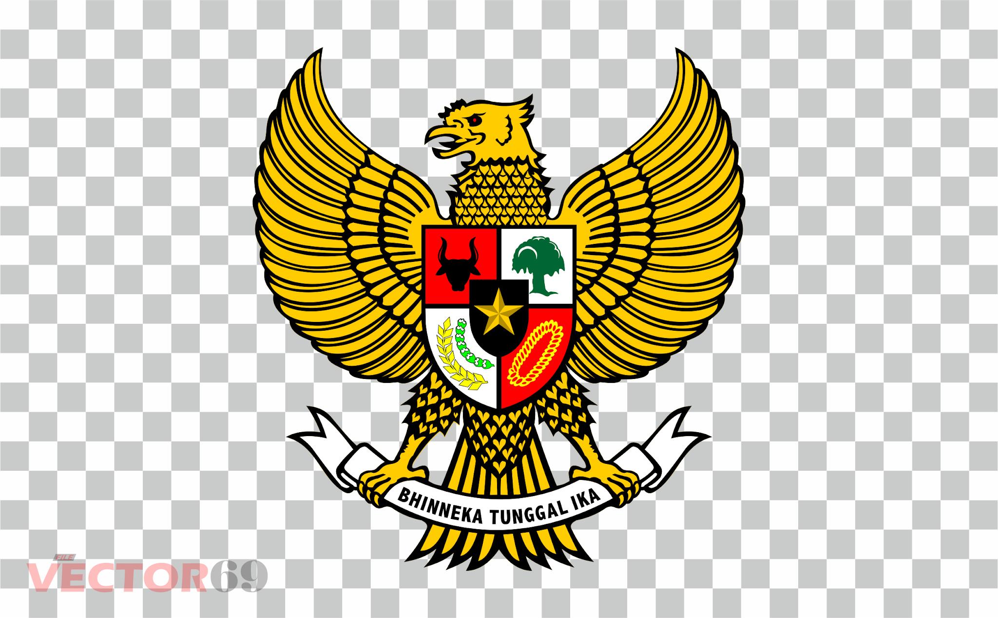 Lambang Garuda Pancasila - Download Vector File PNG (Portable Network Graphics)