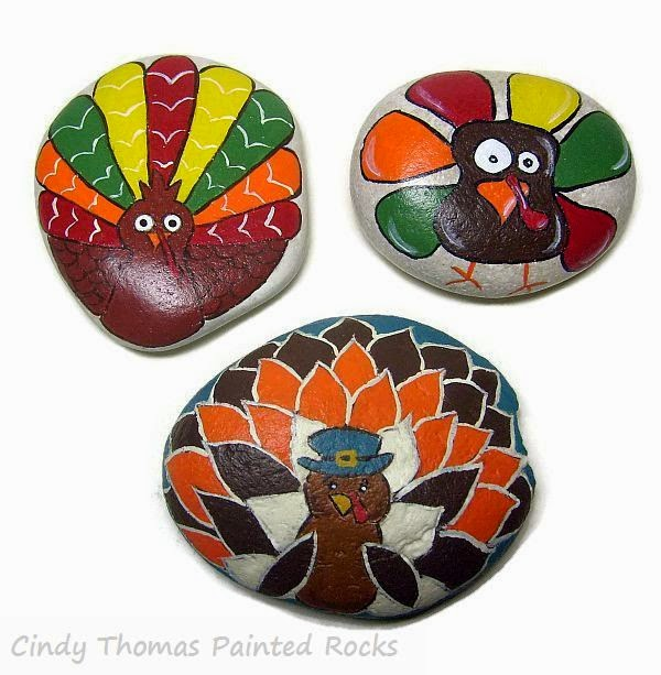 Cookie designs inspire painted rocks