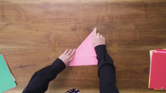 diagonal kertas