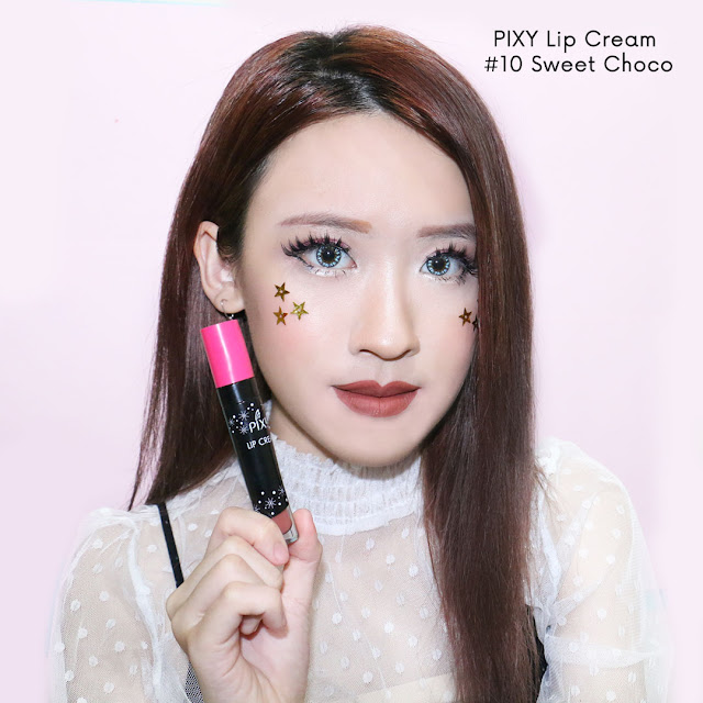 PIXY LIP CREAM SWEET CHOCO #10 review