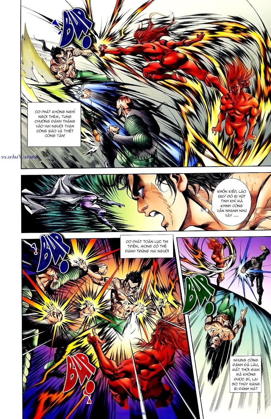 Cơ Phát Khai Chu Bản chapter 102 trang 16