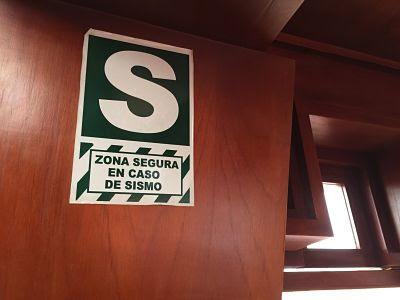 Hotel Waynapichu. Cuzco. Cusco. Perú. Zona segura en caso de sismo.