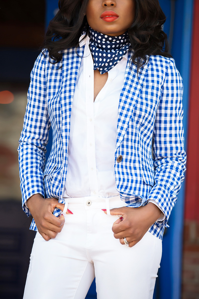 jcrew gingham for July fourth, www.jadore-fashion.com