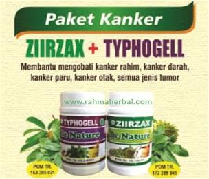Ziirzax dan typhogel Paket kanker dan tumor