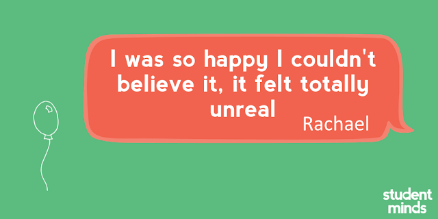 'I was so happy I couldn't believe it, it felt totally unreal' - Rachael