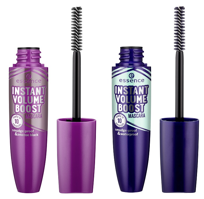 essence awesoMETALLICS instant volume boost mascara