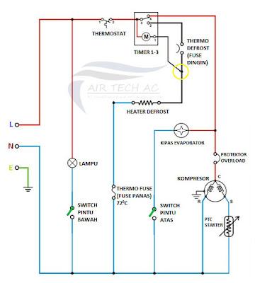 wiring diagram timer 1-3