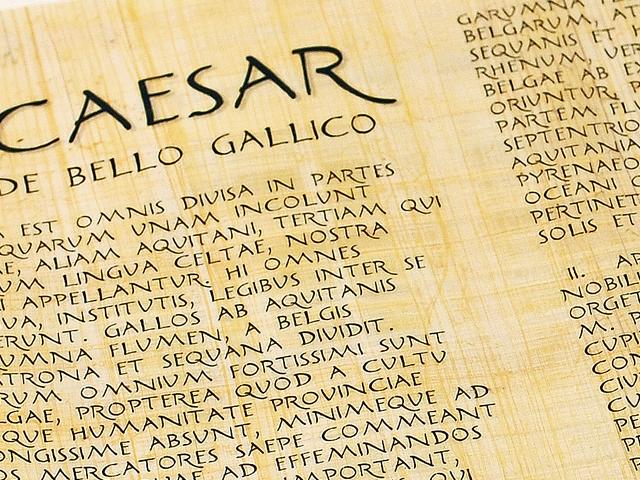Caesar De Bello Gallico