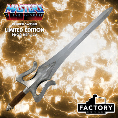 Factory Entertainment Masters Of The Universe Real-World Power Sword 1