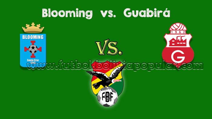 Blooming vs. Guabirá - En Vivo - Online - Torneo Clausura 2018