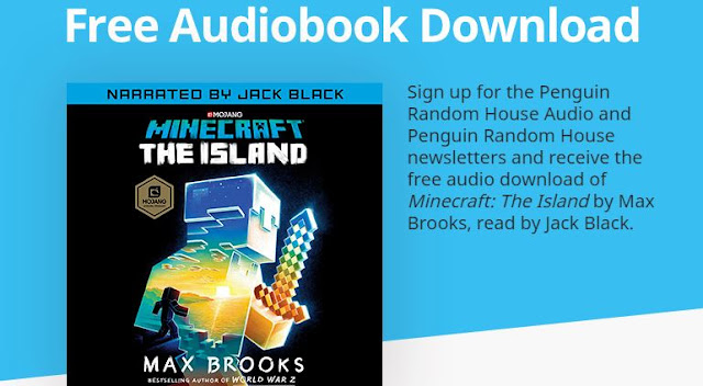 Free Minecraft: The Island Audiobook Download! | JustAddCoffee- The