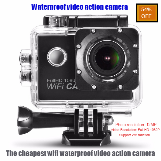 54% OFF | Waterproof Video Action Camera