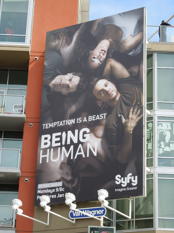 Being Human season 2 Syfy billboard