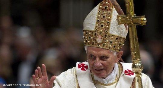 Iglesias evangélicas y la renuncia de Benedicto