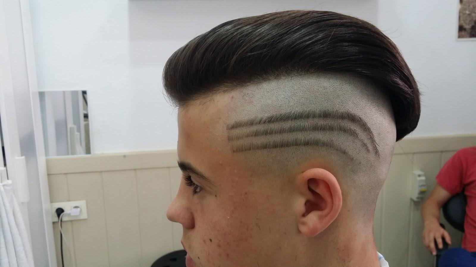 Peluquer a caballeros nuevo estilo ultimos cortes con - Nuevo estilo peluqueria ...