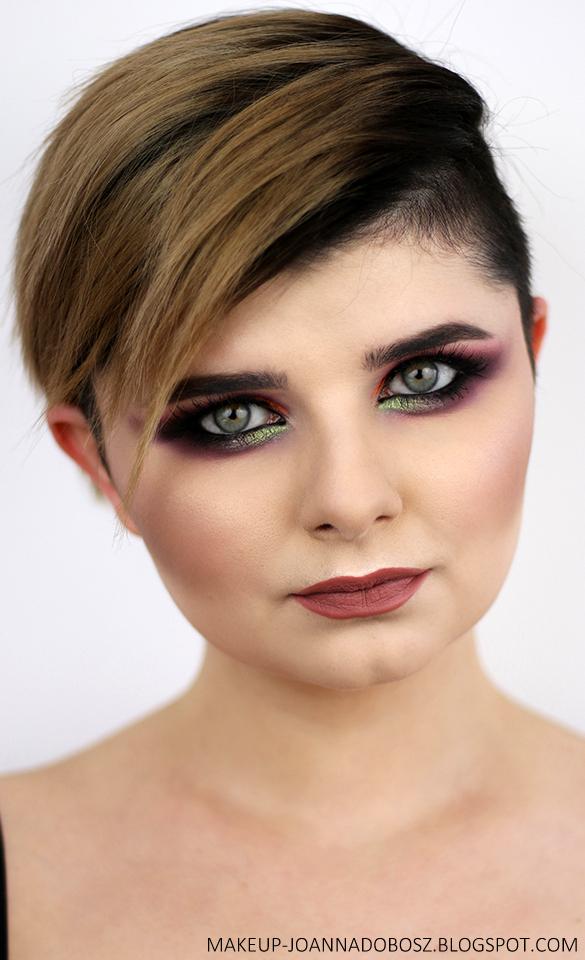 WIECZOROWĄ PORĄ... Makijaż paletą cienie Evening Mood od Affect Cosmetics