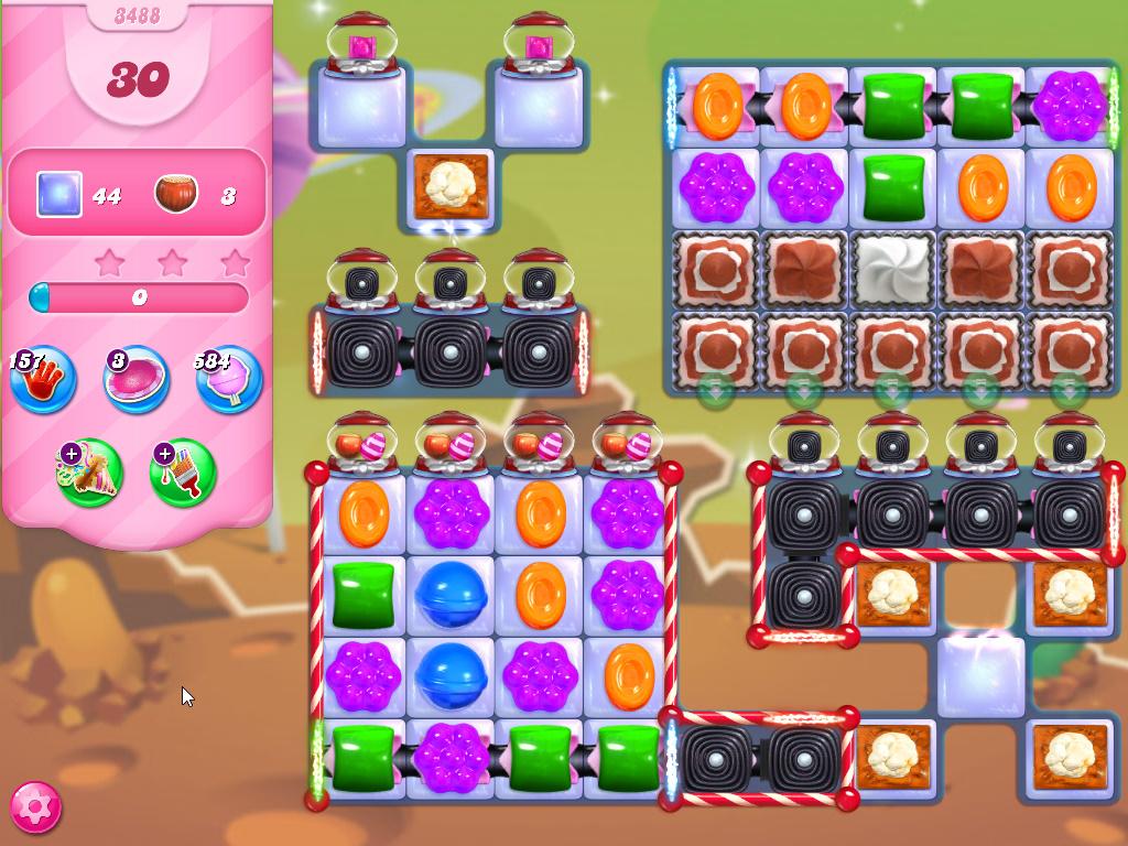 Candy Crush Saga level 3488