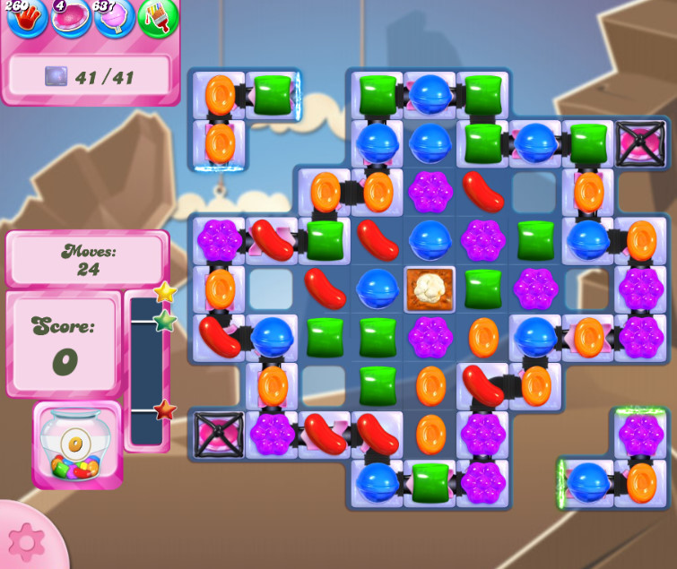 Candy Crush Saga level 2620