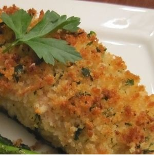 Parmesan Crusted Baked Fish