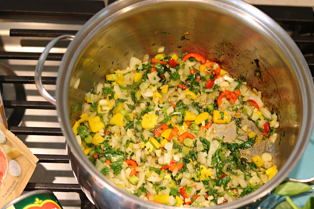 peppers-onion-garlic-jalapeno-olive-oil-sautéing-athomewithjemma