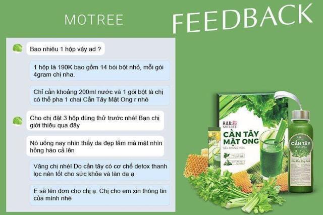 review bot can tay mat ong motree tu khach hang da dung