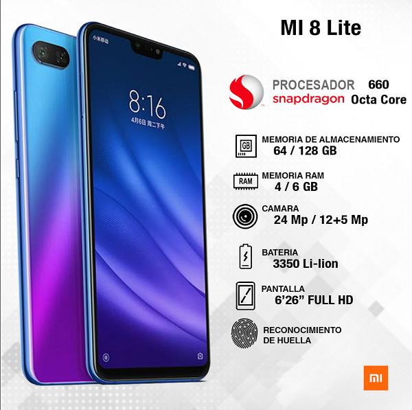 Diferencias entre el MI 8 y MI8 Lite