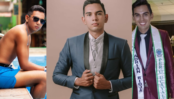 Andrés Herrera Capelletti es Mister Teen Ucayali 2020