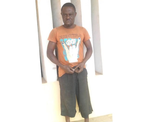 45-year-old man arrested for impregnating his biological daughter