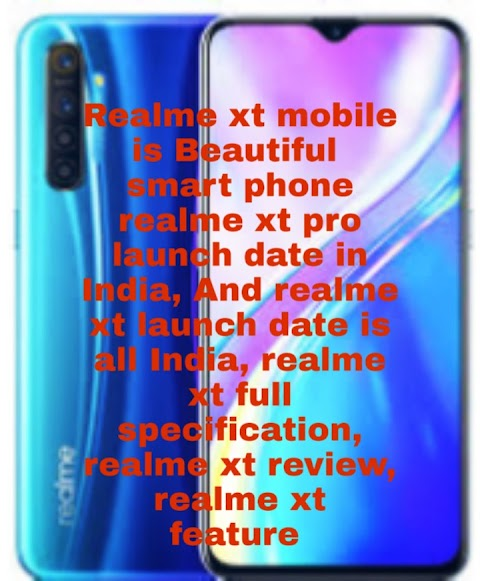 Realme xt mobile phone Price in India Is Launch Date in India | Realme xt next Sale in flipkart And Realme xt specification, review,  ! Realme xt 91mobile list in India