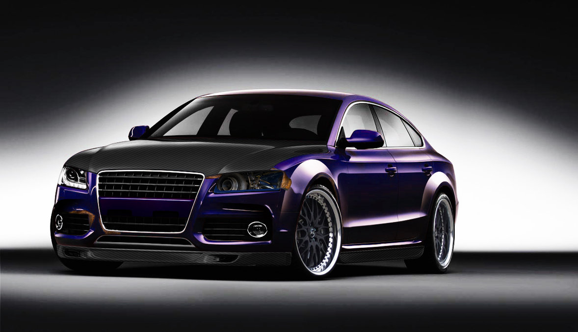 audi a5 tuning carbon photoshop tuning virtual tuning. Black Bedroom Furniture Sets. Home Design Ideas