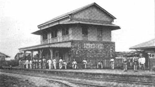 Caloocan Station of the Manila-Dagupan Ferrocaril