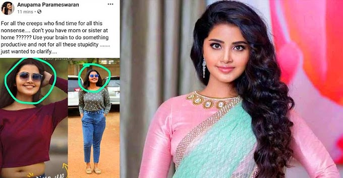 Anupama Parameswaran's Facebook account hacked, she has filed a complaint with cybercrime