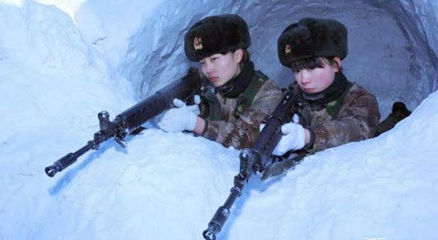 tentara wanita cina