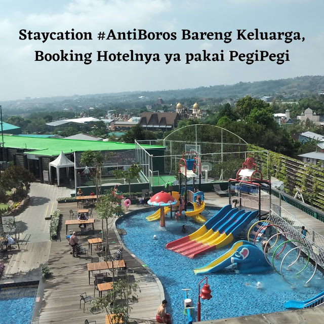 Staycation booking hotel pegipegi
