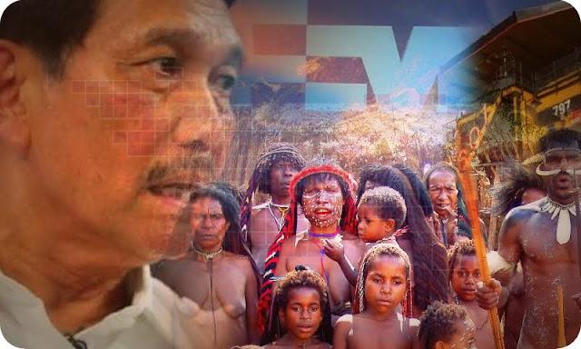 Luhut Bagi Lima Persen Saham Freeport Untuk Masyarakat Papua