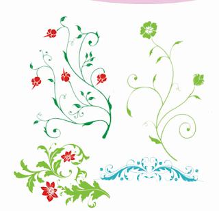 hiasan dengan motif tumbuhan www.simplenews.me