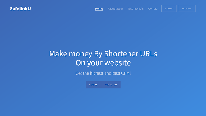 5 Situs Short URL Terbaik Dan Membayar 2018