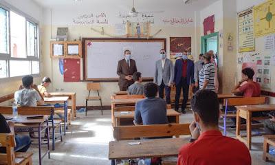 محافظ كفرالشيخ يتابع امتحانات الثانوية العامة