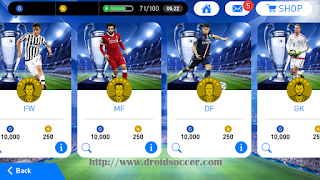 Download PES 2018 Mobile Mod UEFA Champions League Graphic