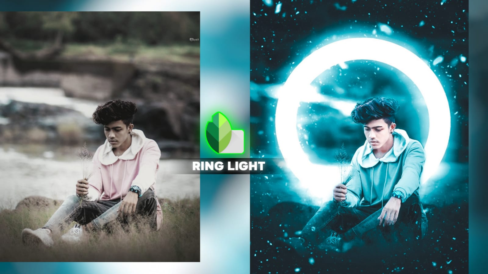 Snapseed Ring Light Editing