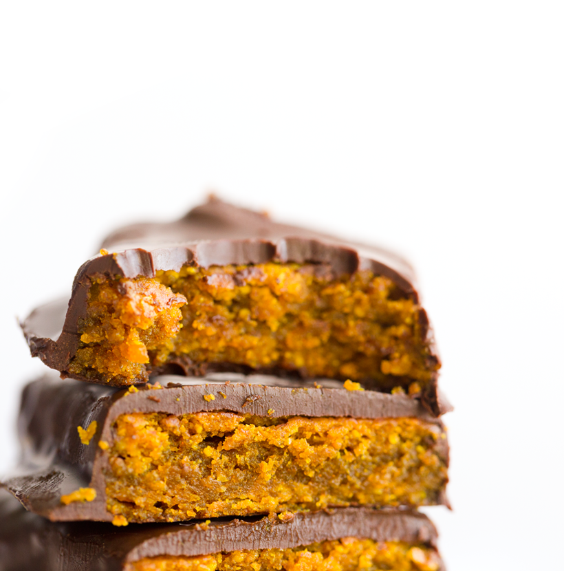 Vegan Butterfinger Candy Bars