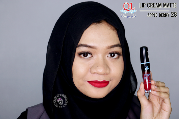 QL Lip Cream Matte 28 Apple Berry
