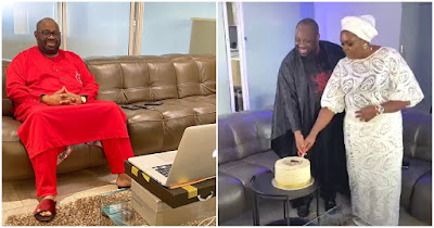 image result for dele momodu 6oth birthday party