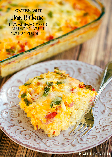 recipe: overnight breakfast casserole with hash browns [22]