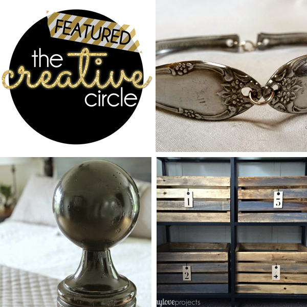 Featured at The Creative Circle Link Party