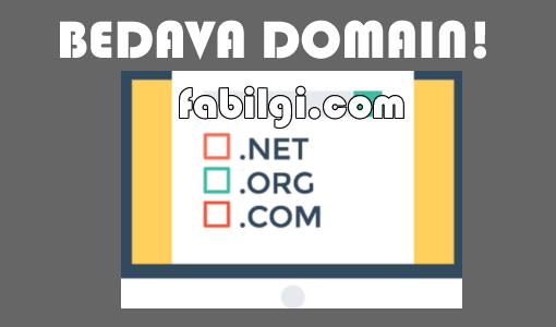 Bedava Com, Net Domain Alma Yöntemi Ücretsiz Alan Adı Veren Site!